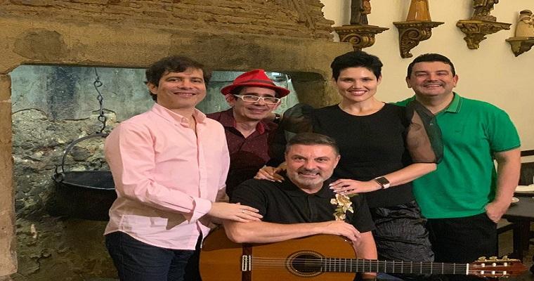 André Rio tem encontro com grandes artistas lusitanos em Portugal
