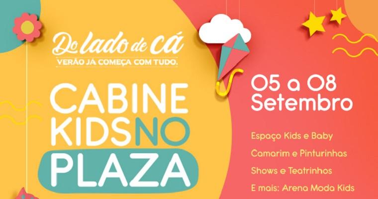 Plaza Shopping realiza terceira edição do Cabine Kids