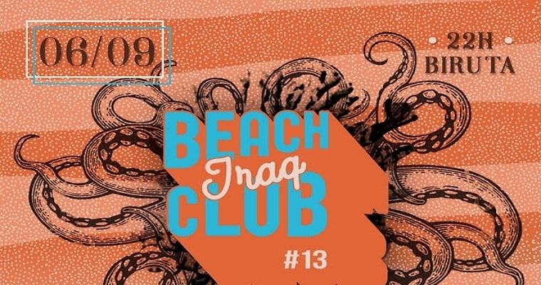 13ª edição do Iraq Beach Club acontece nesta sexta-feira
