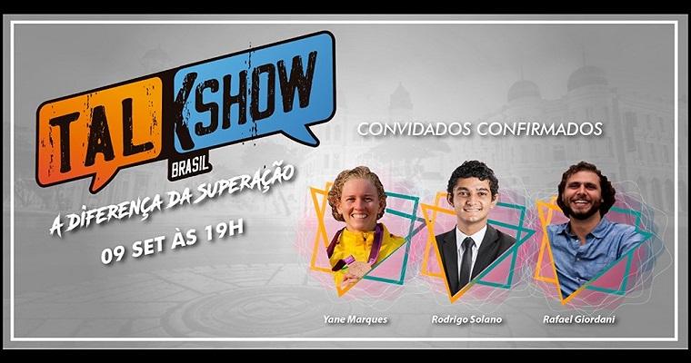 Primeira edição do Talk Show Brasil acontece no Recife