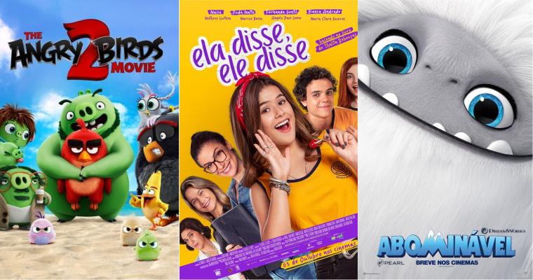 #EmCartaz: Confira 3 filmes infantis para assistir com a criançada