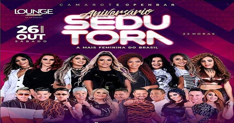 Banda sedutora faz show comemorativo neste sábado (26)
