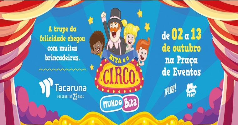 Dia das Crianças: Mundo Bita é uma das atrações do Shopping Tacaruna