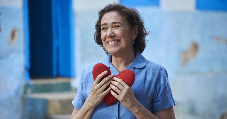 Lilia Cabral participa da pré-estreia de 'Maria do Caritó' no Recife