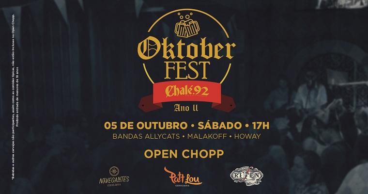 Segunda edição da Oktoberfest acontece neste sábado