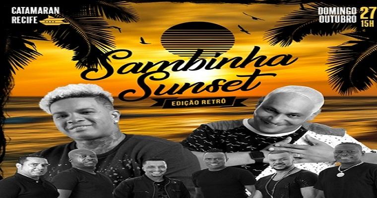 Sambinha Sunset anima a tarde deste domingo (27)