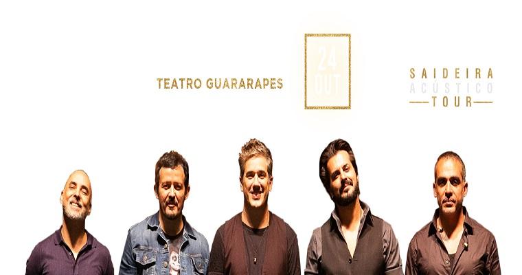 Jota Quest encerra turnê acústica no Recife
