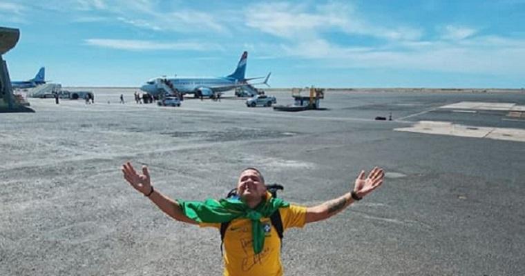Pernambucano conheceu todos os países do mundo em 1 ano e 6 meses