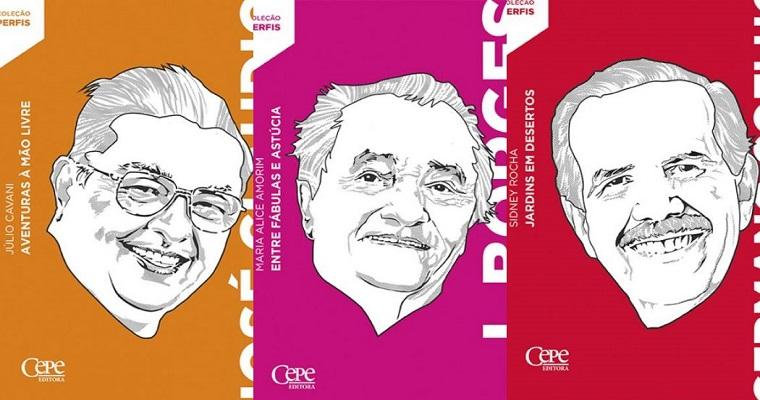 Cepe lança primeiros títulos da coleção Perfis na 5ª Fenelivro