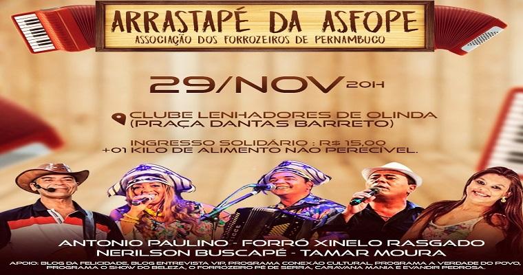 Mais uma edição do Arrastapé da Asfope será realizada nesta sexta-feira