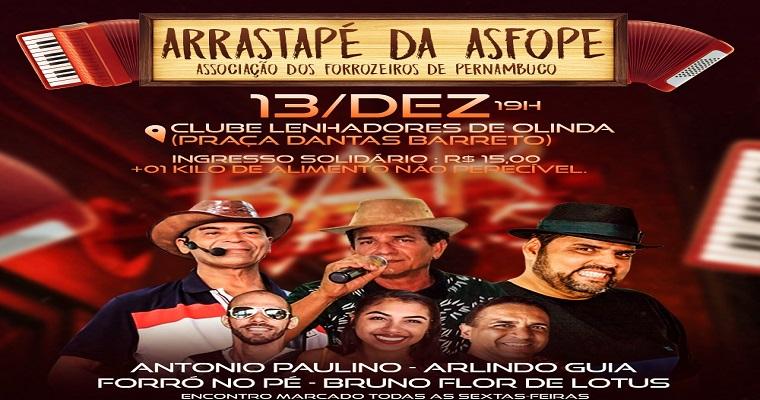 'Arrastapé da Asfope' homenageia Luiz Gonzaga