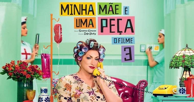 Cinema: 'Minha Mãe é Uma Peça 3' estreia nesta quinta-feira (26)