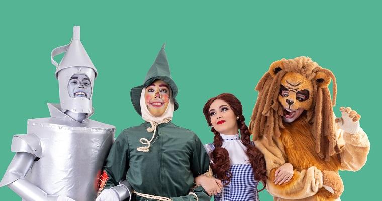 Magico de Oz é tema de apresentação musical gratuita no Plaza