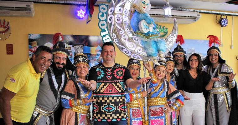 MPB, Forró, Axé e Frevo embalam Ensaios de Carnaval com André Rio