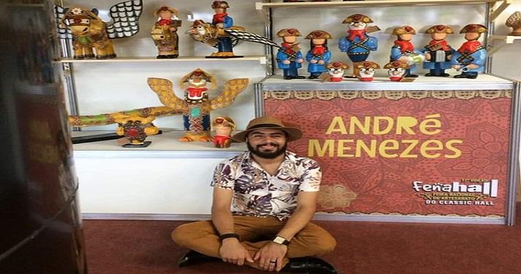 André Menezes leva seu 'Imaginário Nordestino' para a Fenahall
