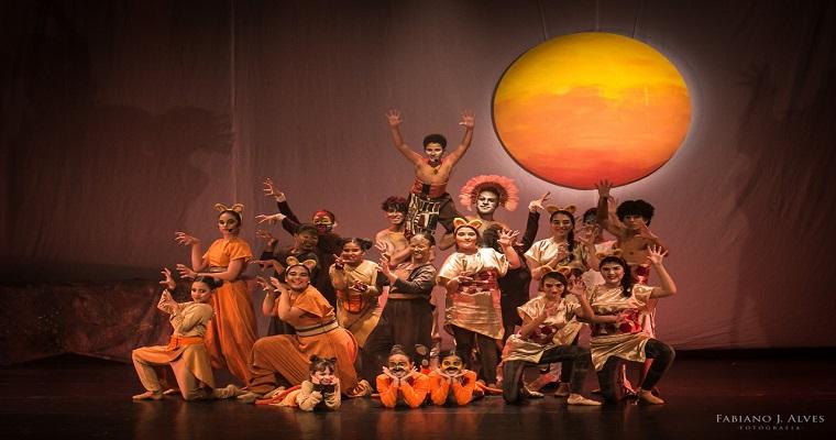 'O Rei Leão' será apresentado no Teatro Dona Lindu