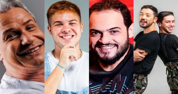 Sikera Jr, Xaro, Matheus Ceará e Rico e Davi são atrações do Teatro Boa Vista