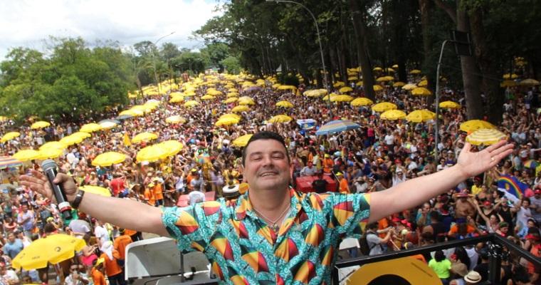 André Rio arrastou uma multidão em São Paulo