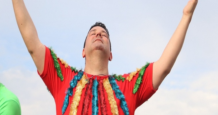 Andre Rio anima com muito Frevo o Baile Municipal de Itapissuma