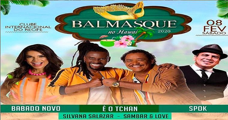 72ª edição do BalMasqué anima o fim de semana no Recife