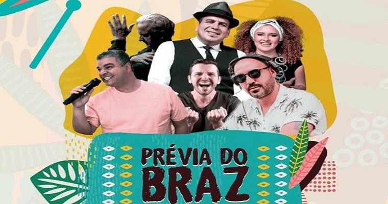 Artistas pernambucanos animam a Prévia do Braz