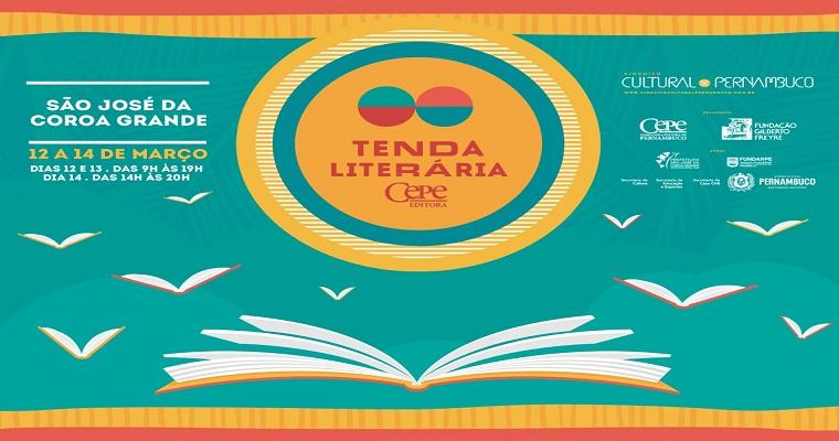 Tenda Literária de 2020 começa nesta quinta-feira (12)