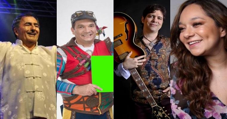 Festival Palco em Casa: Confira as atrações deste fim de semana