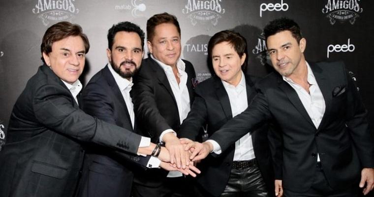 'Amigos' projeto sertanejo terá live especial