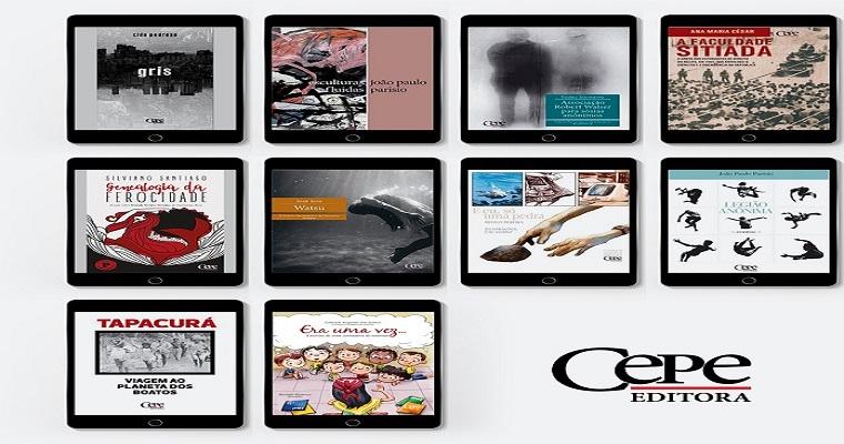 Cepe Editora libera novos e-books nesta segunda-feira
