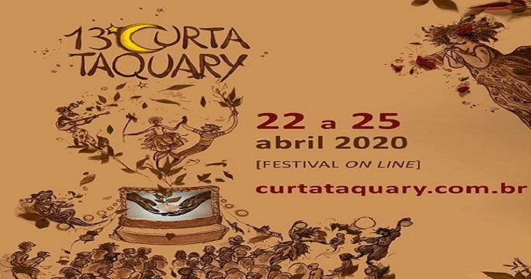 13ª edição do Festival Curta Taquary será virtual