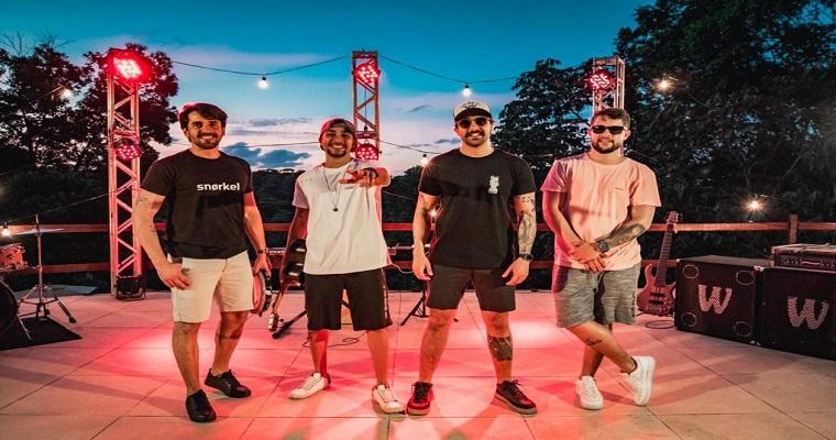Banda Sambar & Love realiza mais uma live neste domingo