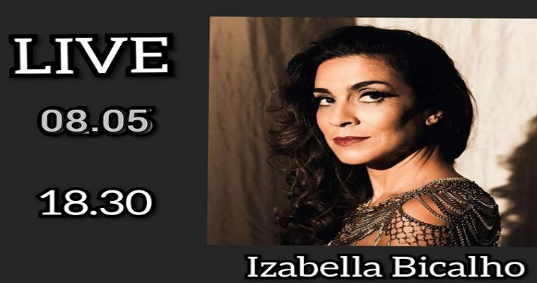 Luciana Alves entrevista Izabella Bicalho nesta sexta-feira (08)
