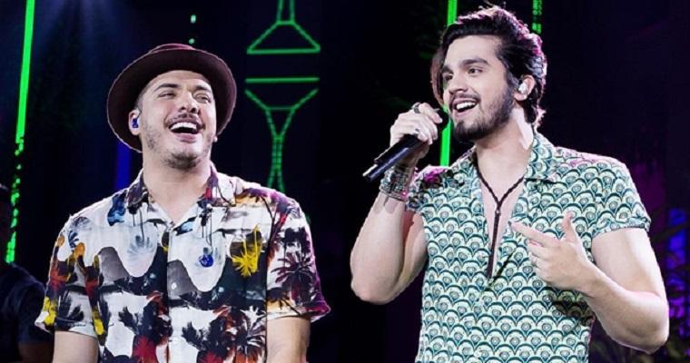 Wesley Safadão e Luan Santana fazem live junina neste sábado (20)
