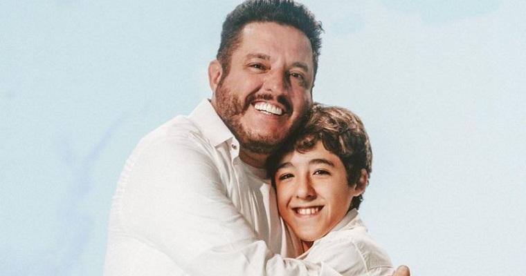 Bruno, dupla de Marrone, anuncia parceria com o filho Enzo Rabelo
