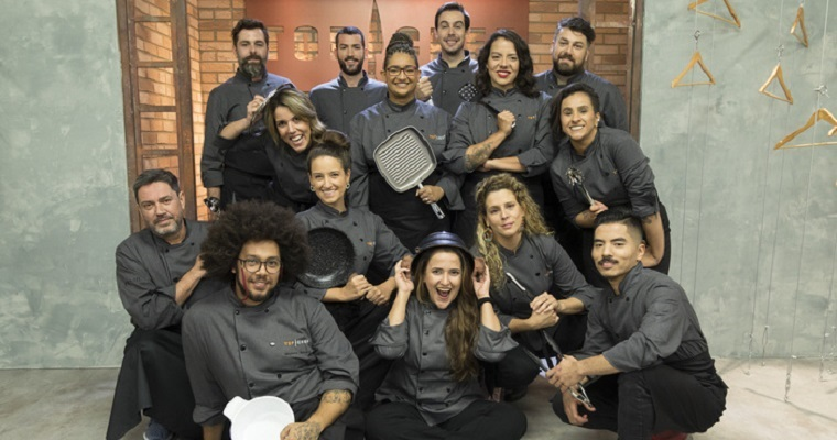 Participantes do Top Chef Brasil.