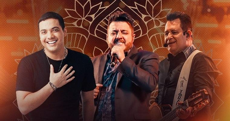 Wesley Safadão realizará live junto com Bruno e Marrone