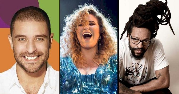 Diogo Nogueira, Maria Rita e Rael realizarão live inédita juntos